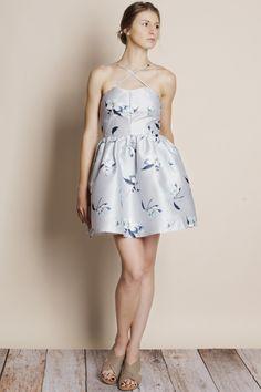 What Isn't Mine Floral Flare Mini Dress