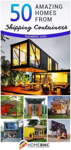 Shipping container homes utilize the leftover steel boxes used in oversea transportation. Check out the best design #ideas here.
