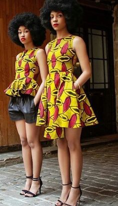 Beautiful african print ankara styles for slay queens classy ankara gown and peplum top styles for slay queens in 2018 trendy ankara gown styles for slay queens African Dresses For Women, African Print Dresses, African Fashion Dresses, African Attire, African Wear, African Women, African Prints, African Style, Ankara Fashion