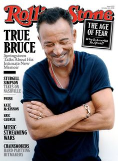 Bruce Springsteen on the October 20, 2016 cover.