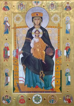 Religious Pictures, Religious Icons, Religious Art, Byzantine Icons, Byzantine Art, Holly Pictures, Lady Madonna, Russian Icons, Blessed Virgin Mary