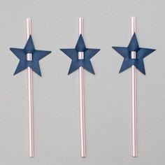 Rockstar Theme: Star Straws