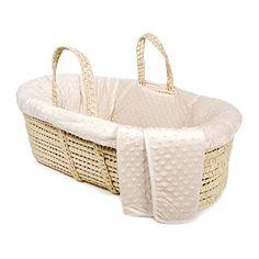 Tadpoles Minky Dot Moses Basket and Bedding Set, Natural ... https://www.amazon.com/dp/B01CHW53H8/ref=cm_sw_r_pi_dp_OidMxbTT7GYX3