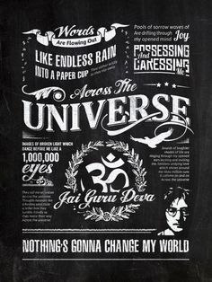 Typography by Oran Almog, via Behance