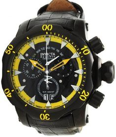 Invicta 1602 Reserve Men's Venom Stealth Swiss Chronograph Watch Invicta. $428.89. Date, Day, Hour, Minute, Second. Crystal Flame Fusion. Swiss Ronda 8040.N Quartz Chronograp. Water Resistant 1000 meters / 3300 feet