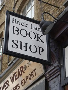Such a lovely bookshop in Brick Lane, London