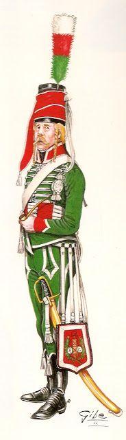 Cacciatori a cavallo della Legione lombarda 1796-1797
