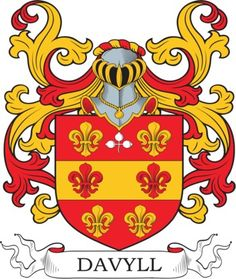 Davyll Family Crest and Coat of Arms