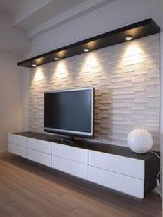 Tv Unit Decor, Tv Wall Decor, Home Living Room, Living Room Decor, Lcd Panel Design, Modern Tv Wall Units, Living Room Tv Unit Designs, Tv Wall Design, Interior Design