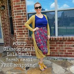 LuLaRoe #outfit of the day