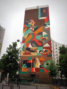 REKA - Paris 13 // photo juillet 2015 @ vidos - street-art-avenue