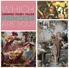 Which Grimms' Fairy Tale Princess Are You? -----I got: Dornröschen (Sleeping Beauty, if you're weak).     Some people are embarrassed by their parents, but your parents' bad manners almost kill you. Because they didn't invite a lady to a party, she cursed you. You have a lot of great qualities — namely, you're virtuous and beautiful and rich. Dudes would literally die just to see you, so that's cool I guess. Sorry about your lame parents.