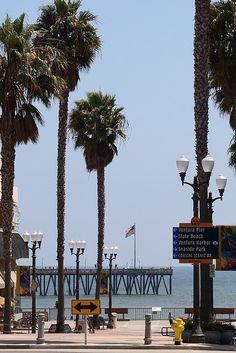 Ventura Pier  California via flickr