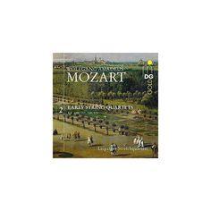 Mozart & Leipzig String Quartets - Mozart: Early String Quartets Vol 2 KV 156 157 168 (CD)