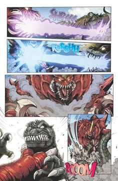 This is why I love Godzilla. Seeing giant monsters beat the shit out of eachother. - This is why I love Godzilla. Seeing giant monsters beat the shit out of eachother. Godzilla Comics, Godzilla 2, Monster Hunter Memes, Jurassic Park World, Music Memes, King Kong, Jojo's Bizarre Adventure, Creative Art, Game Art