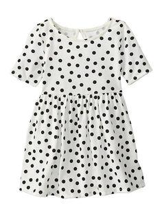 Gap   Printed swing dress