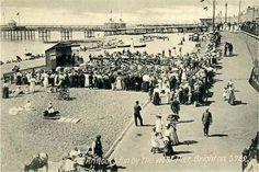 West Pier Brighton. Punch & Judy Show