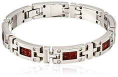 Edward Mirell Mens Grey Titanium and Brown Leather Link Bracelet 8 -- To view further for this item, visit the image link. Bracelets For Men, Link Bracelets, Brown Leather, Men's Fashion, Image Link, Grey, Jewelry, Moda Masculina, Gray