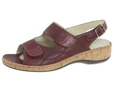 Click to see the Linda Hallux wedge sandal.