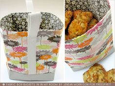 FreeSpirit-Rowan 10&10 Series: Fabric Box-Baskets in Jenean Morrison/In My Room | Sew4Home