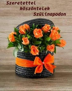 Birthday Greetings, Happy Birthday, Name Day, Shrek, Ikebana, Table Decorations, Birthday, Flowers, Happy Brithday