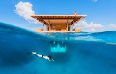 Déconnectez sous le soleil ou sous l'eau au Manta Resort © Genberg Art UW LTD/Jesper Anhede #momondo