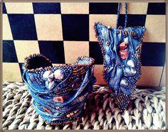 bead embroidery, bracelet and pendant, like a dragon skin