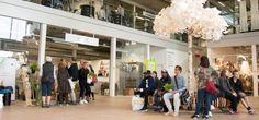 Das Upcycling-Einkaufszentrum (Foto © ReTuna Återbruksgalleria)