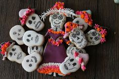 Day of the Dead Caterina cookies