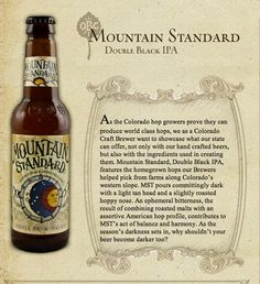 Luscious IPA. The Odell Mountain Standard is as good as they come.