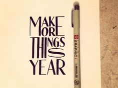 make-more-things-this-year