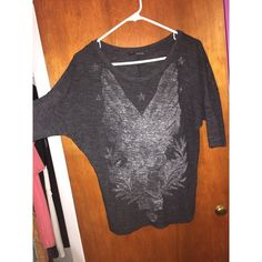 Casual Loose fitting shirt by Zara Worn a couple times in good condition fits a medium as well since it's loose offers accepted ask for reduced shipping Zara Tops