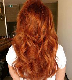 Red Shag Haircut For Long Hair
