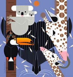 LOVE Charley Harper prints!