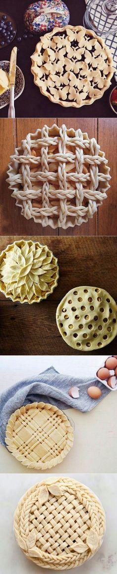 Ideia de decoração para torta