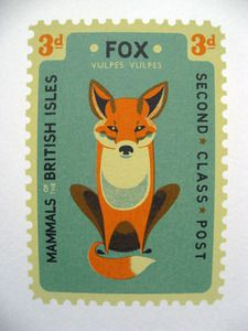 """It would be rude not to add the """"Fox"""" too.  Limited edition screen print by Tom Frost :)"""