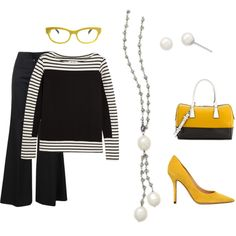 """""""Labradorite and Cultured Freshwater Pearl"""" by simplybechic on Polyvore  Be a ray of sunshine in a simple but chic way!  http://www.shop.simplybechic.com/Labradorite-Necklace-with-Cultured-Freshwater-Pearl-Drop-33839.htm  http://www.shop.simplybechic.com/White-Cultured-Freshwater-Pearl-Stud-Earrings-65890.htm"""