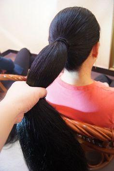 2 long hair ladies shot by fala Long Ponytail Hairstyles, Long Hair Ponytail, Bob Hairstyles For Thick, Braids For Long Hair, Straight Ponytail, Long Silky Hair, Long Dark Hair, Super Long Hair, Thick Hair Bob Haircut