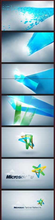Microsoft Partners Network Logo Animation on Behance