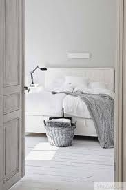 grey and white bedroom White Bedroom, Dream Bedroom, Master Bedroom, Bedroom Decor, Swedish Bedroom, White Bedding, Monochrome Bedroom, Serene Bedroom, Bedroom Simple