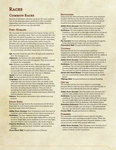 Like DND Homebrew