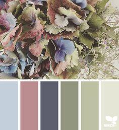 { flora palette } image via: @_.dragonfly._