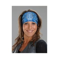 Thats A Wrap® Skull Bandana Knotty Head-Band Hair Wrap (5 Colors Options) - House of Harley-Davidson