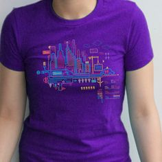 Dark City Infographic T-shirt