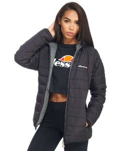 Ellesse Arianna Reversible Jacket - Shop online for Ellesse Arianna Reversible Jacket with JD Sports, the UK's leading sports fashion retailer. Sport Fashion, I Love Fashion, Fashion Ideas, Fashion Tips, Fashion Trends, Nike Outfits, Sport Outfits, Fitness Outfits, Ellesse