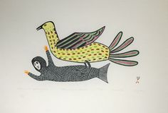 Spirit Wrestler Gallery: Art Exhibition: From The Archives Cape Dorset Print Collection