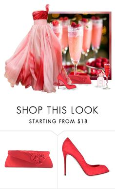 """Raspberry Mimosas"" by love-n-laughter ❤ liked on Polyvore featuring Dolce&Gabbana and Marc Jacobs"