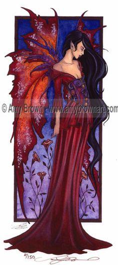 Fairy Art Artist Amy Brown: The Official Online Gallery. Fantasy Art, Faery Art, Dragons, and Magical Things Await. Amy Brown Fairies, Dark Fairies, Fantasy Fairies, Elves Fantasy, Fairy Pictures, Mystical Pictures, Fairy Paintings, Unicorns And Mermaids, Beautiful Fantasy Art