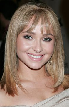 Shoulder Length Hair Cuts with Bangs | ... Bangs - Hayden Panettiere Shoulder Length Hairstyles - StyleBistro LOVE THE COLOR