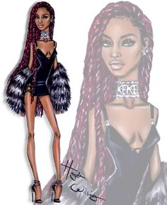Keke Palmer by Hayden Williams #Millenials #KekePalmer  Be Inspirational ❥ Mz. Manerz: Being well dressed is a beautiful form of confidence, happiness & politeness